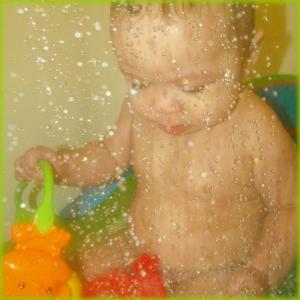 Ephemera 2011 March 11 - Bath Time Baby